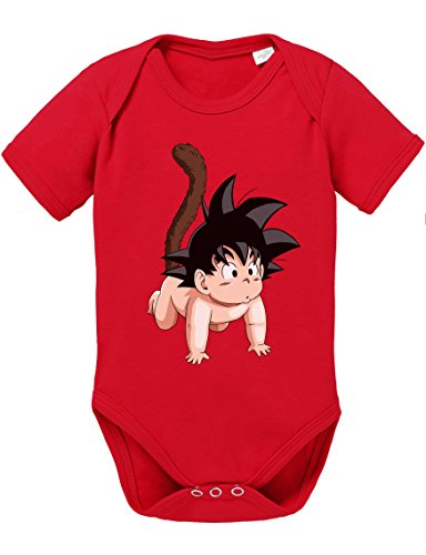 WhyKiki Son Goku Baby Baby Bebé Body Dragon Master Son Ball Vegeta Turtle Roshi Db,...
