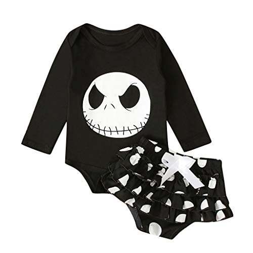 Disfraz Halloween Conjuntos Bebe Niña Body Bebe Manga Larga - Monos Mameluco Ropa Bebe Recien...