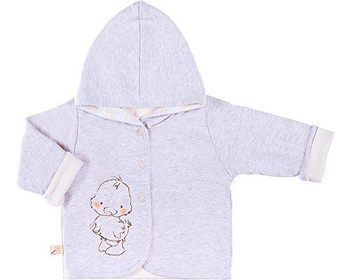 Be Mammy Jersey con Capucha Ropa Bebé BEEK0006 (Mezcla de Color/Crema, 74)