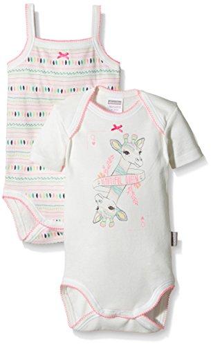 Absorba Underwear Girafe BB-Body Bebé-Niños Beige (Nacre 13) 80 cm