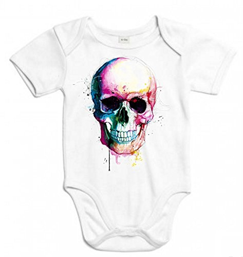 The Fan Tee Body de NIÑOS Skull Calavera 3Meses