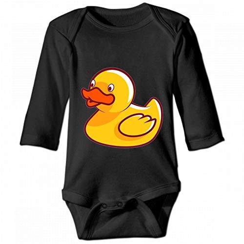 KioHp Duck Body de Manga Larga con Cuello Redondo para bebé Unisex, Traje de Escalada Casual para...