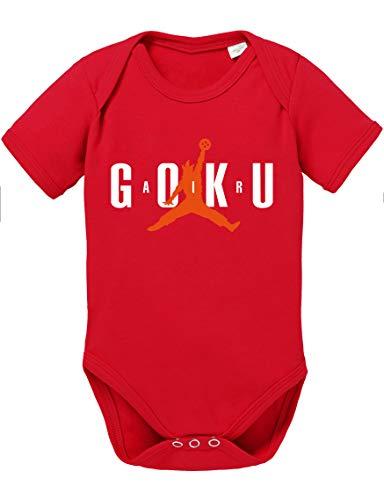 Tee Kiki Air Goku Body Dragon de algodón orgánico Ball Son Proverbs Baby Romper para niños y...