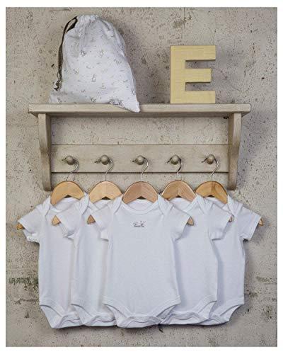 The Essential One - Paquete de 5 Body para bebé Blancos ESS2