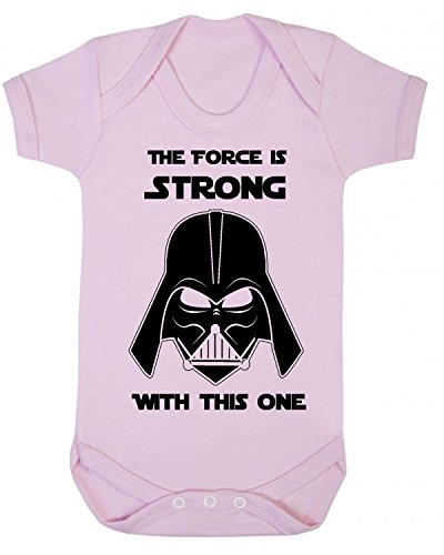 The Force is Strong with this one Star Wars Novedad bebé chaleco de pijama, novedad de Jedia Pale...