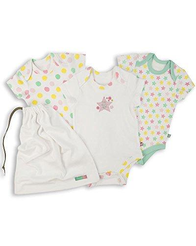 The Essential One - Paquete de 3 Body Bodies para bebé niñas - Primera Puesta - ESS173