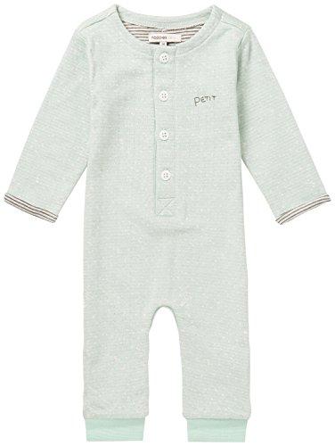 Noppies U Playsuit jrsy Dinuba Body, Gris (Grey Mint C175), 1 Mes Unisex bebé