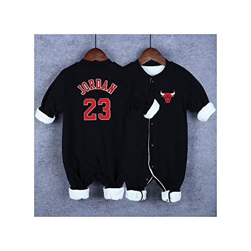 GHQYP Ropa para Bebes Niño No.23 Michael Jordan Regalos Originales Niños para los Recién...