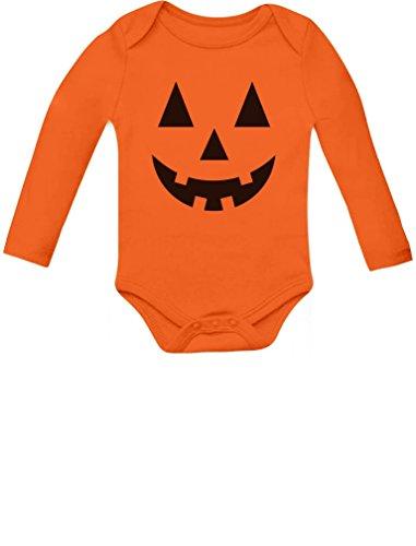 Cute Little calabaza–Halloween Infantil Jack O 'farol Baby Body -  Anaranjado -