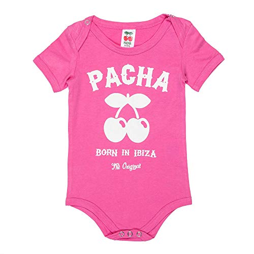 Pachá - Pack para Bebes Body, Babero y Bolsita Porta Todo Oficial Estilo Casual Logo Trouble Maker