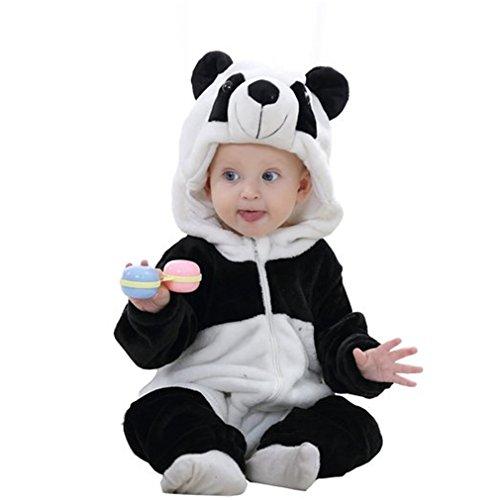 MICHLEY Bebé Ropa Mameluco Niños Niñas Pelele Pijama de Primavera y otoño Franela Traje de...