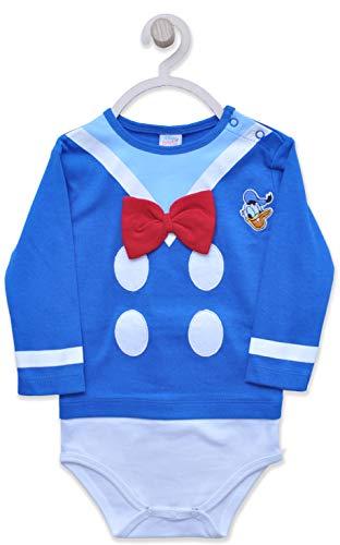 Disney Baby Boys Body Algodón Suave (9 Meses (74 CM))