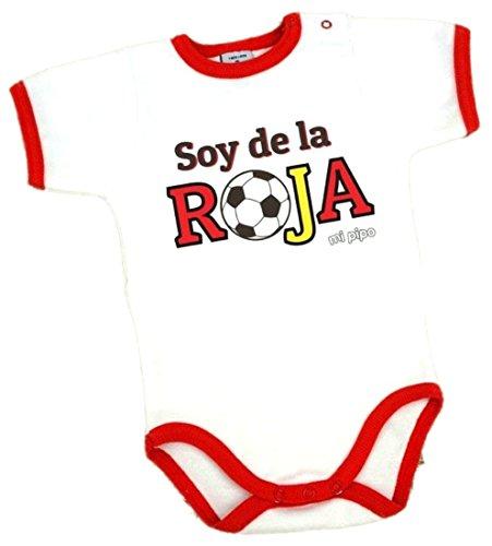 Body España Bebé Manga Corta Soy de La Roja (1 MES)