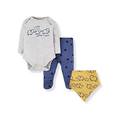 Mothercare Io B M&d 3pc Set Body, (Bright Multi 281), 12-18 Months (Size:86) para Bebés