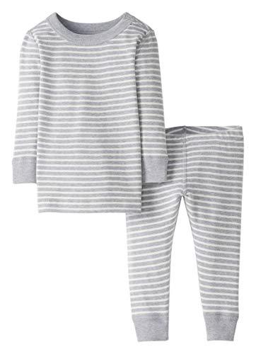 Moon and Back de Hanna Andersson - Conjunto de pijama de 2 piezas de manga larga, hecho de algodón...