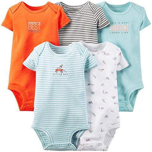 Carter's Baby Boys Body (bebé) - Azul - 12 meses