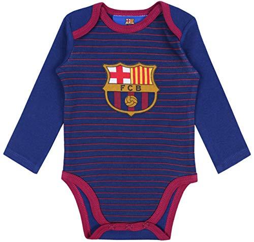 sarcia.eu Body de bebé Azul Marino FC Barcelona 9 Meses