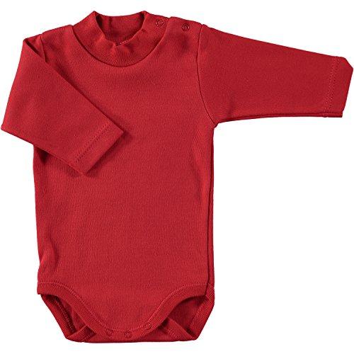 BABIDU Body C.Cisne, Rojo, 3 Meses Bebe-Unisex