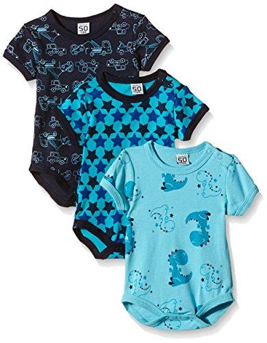 Care Body Bebé-Niños pack de 3 o pack de 6 Azul (Dark Navy 778) 18 meses (Talla del fabricante:...