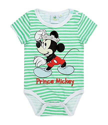 Disney Mickey Babies Body bebé - Verde - 24M