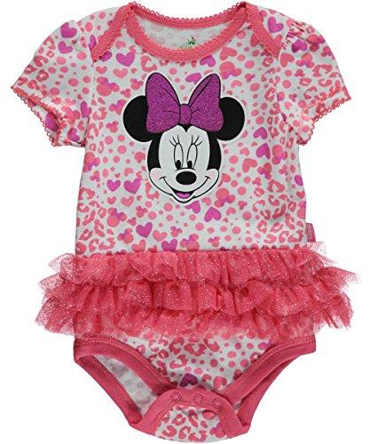 Disney - Body - Bébé (Fille) 0 à 24 Mois Coral/Multi 3-6 Mois