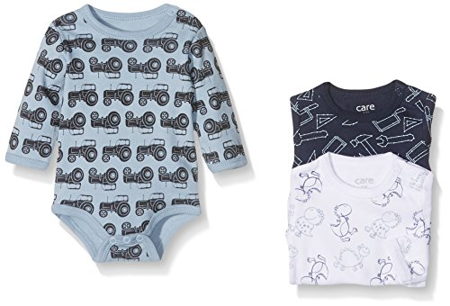 Care Body Bebé-Niños pack de 3, Multicolor (Royal Blue 750), 104 cm