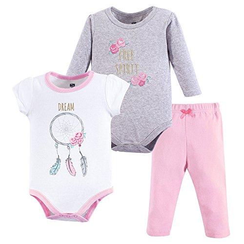 Hudson - Conjunto de body y pantalón para bebé Rojo reno 3-6 Meses