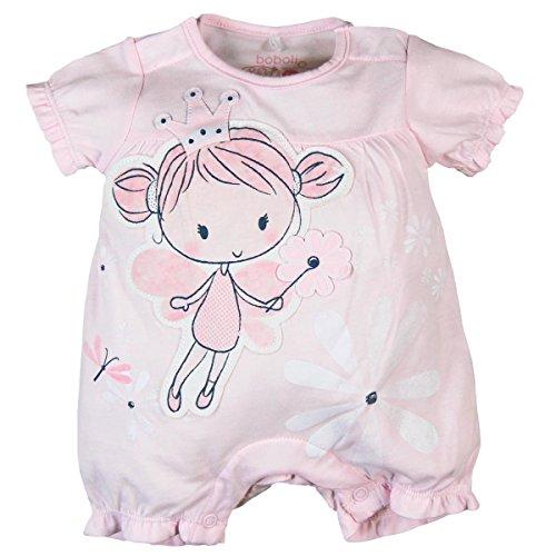 boboli Knit Play Suit for Baby Girl Body, Rosa (Rosa 3000), 56 cm para Bebés
