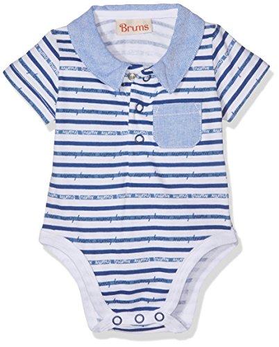 Brums 171BBFN002 Body, Azul (Royal 09 268), 56 cm Unisex bebé