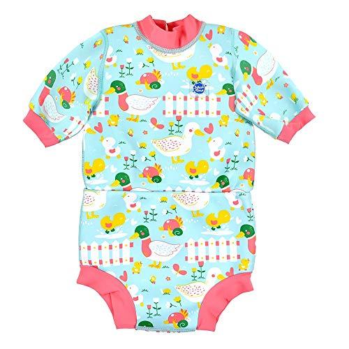 Splash About Baby Happy - Traje de Neopreno para pañales, Unisex bebé, Traje húmedo, HNWLDM,...