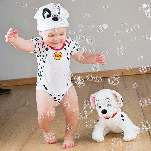 amscan 101 Dalmatians Bodysuit and Hat, 3-6 Months, 2 Pcs. Disfraces, Multicolor, Size-3-6 Unisex...