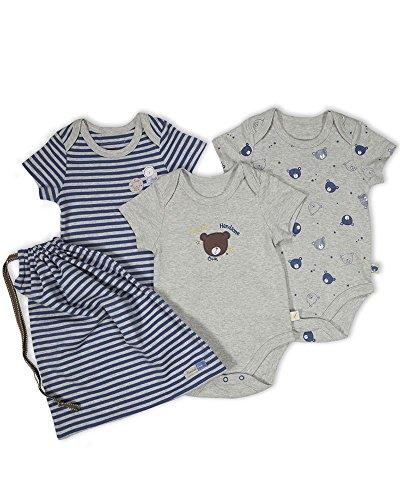 The Essential One - Paquete de 3 Body Bodies para bebé niños ESS138