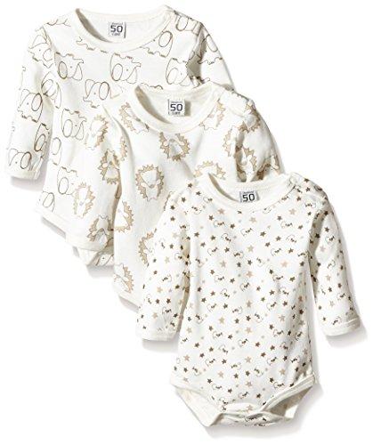 Care Body Bebé-Niños pack de 3 Marfil (Offwhite 200) 4 años (Talla del fabricante: 104)