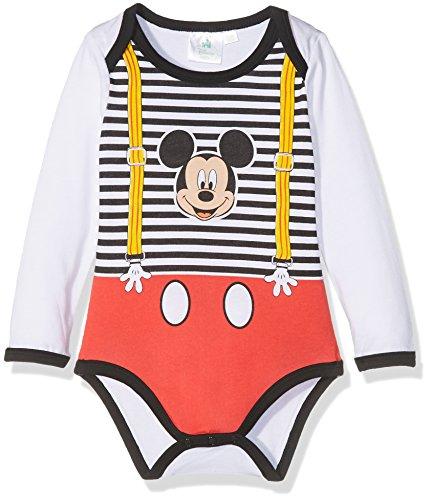 Disney 160604 Body, Blanc (Blanc), 1 Year (Tallas De Fabricante: 1 Year) para Bebés