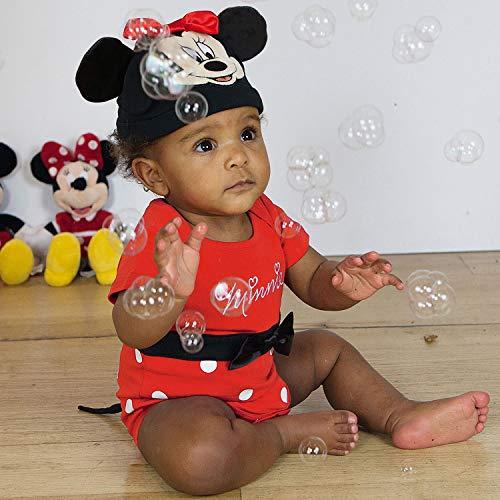 Disfraz oficial de Mickey Mouse para bebés y niños pequeños Minnie Mouse Red Talla:9-12Months