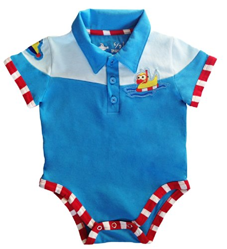 Body Polo Patito 0-3 Meses