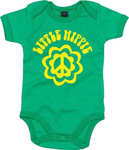 Racker-n-Roll - Body - para bebé niño Verde 74