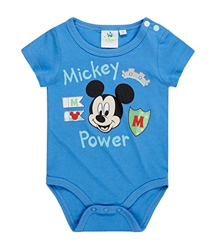 Disney Mickey Babies Body bebé - Azul - 24M