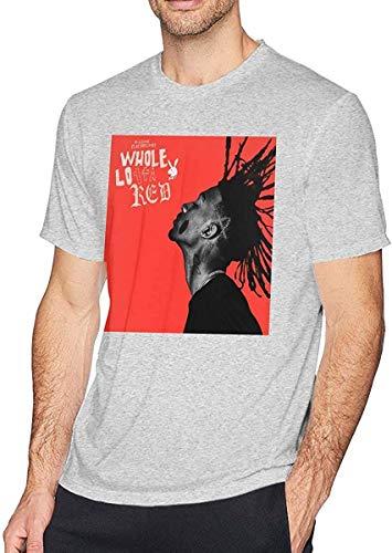 Camisetas y Tops Polos y Camisas, Playboi Carti Camiseta Hombre Moda Algodón Cuello Redondo Manga...