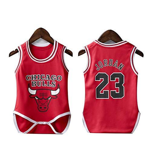 Camiseta de baloncesto NBA Fanático de los deportes Bebé verano LeBron Raymone James 23 James...