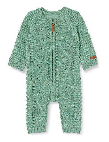 NAME IT NBFWRILLA Wool LS Knit Suit Noos XX Body, Green Bay, 80 cm para Bebés