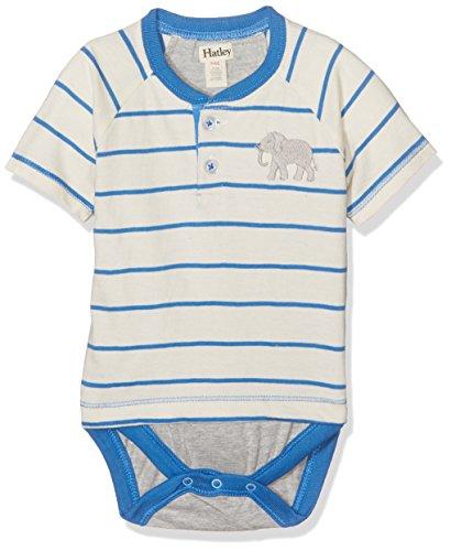 Hatley DRTELPH453 Body, Blanco (Elephant 100), 3-6 Meses para Bebés