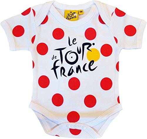 Le Tour de France - Body para bebé, diseño de Grimpeur de ciclismo (talla de 18 meses)