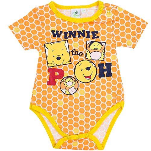 Disney - Body para bebé, diseño de Winnie The Pooh naranja 23 meses