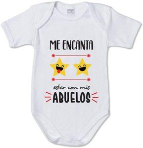 Body bebé Abuelos