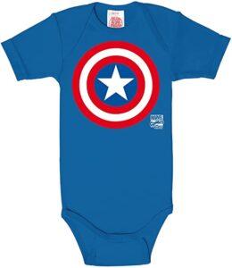 Body bebé Capitán América