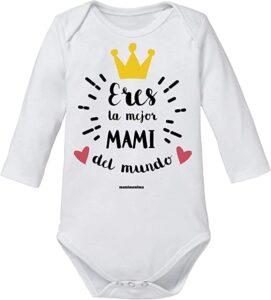 Body bebé frases Mamá