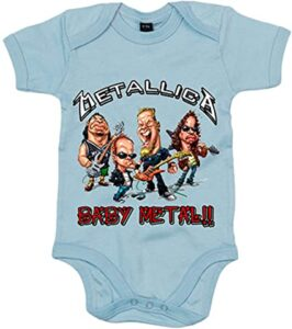 Body bebé Metallica