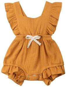 Body bebé Naranja