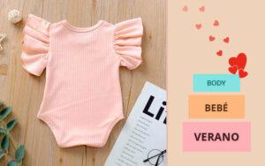 Bodys de bebé ideales para el verano